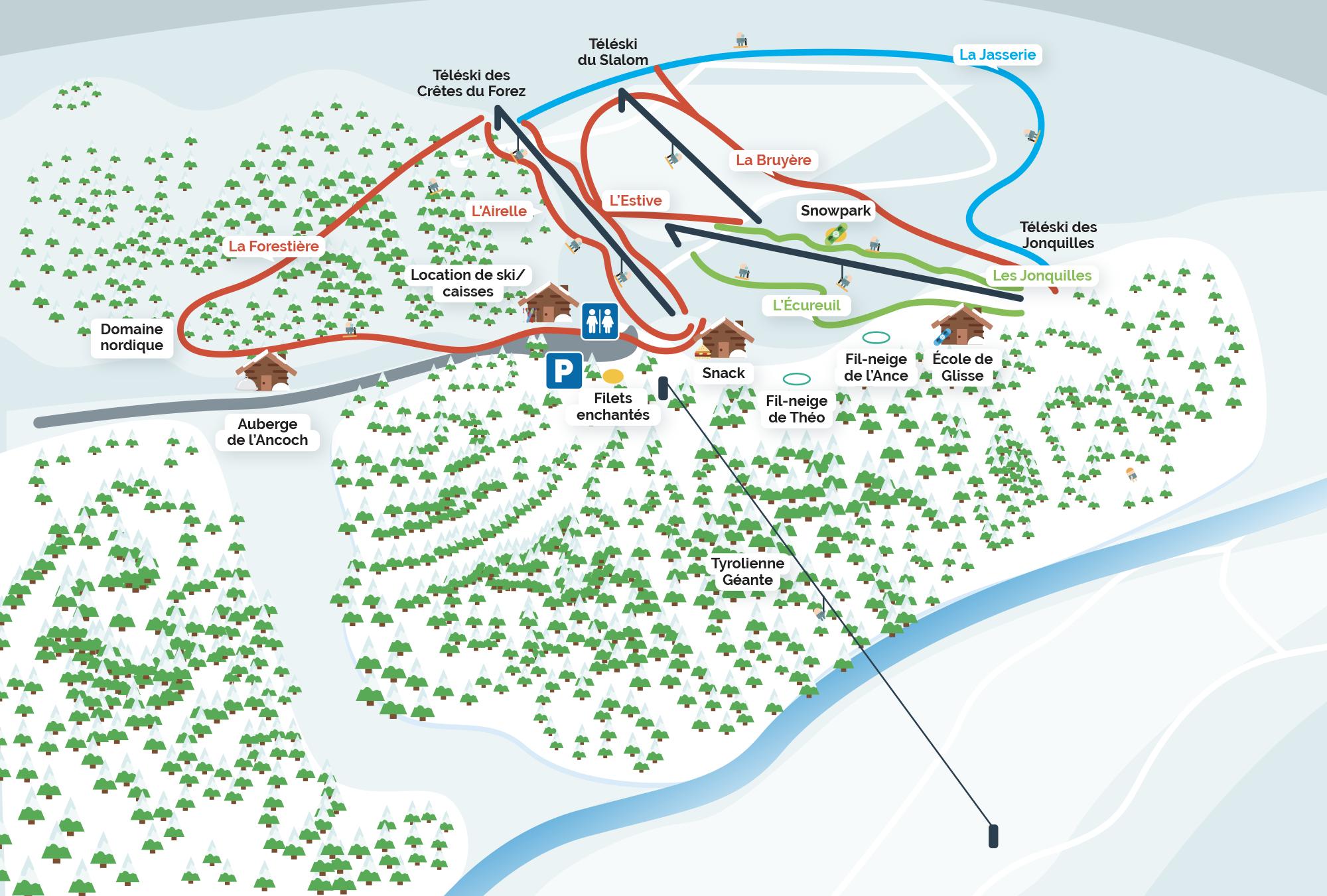 plan-des-pistes-praboure-hiver